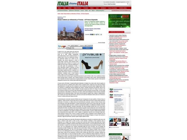 Italia Chiama Italia: Roshni Khem & Rohan Mehta