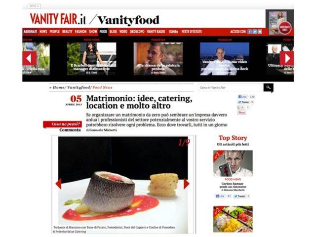 Vanity Fair: Salza Catering