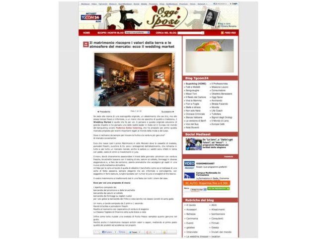 TGCOM24: Salza Catering